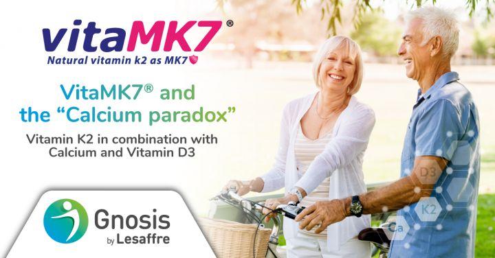 """vitaMK7 The """"Calcium paradox"""""""