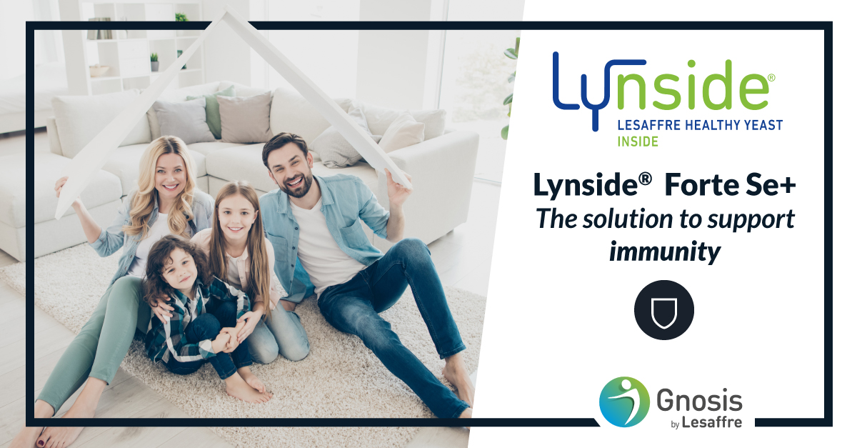 Lynside® Forte Se+, the solution to support immunity